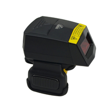 Usable Anillo portátil Escáner de código de Barras 1D 2D Lector USB Handheld QR Code Scanner Bluethooth FS02 Escaneo Para Android