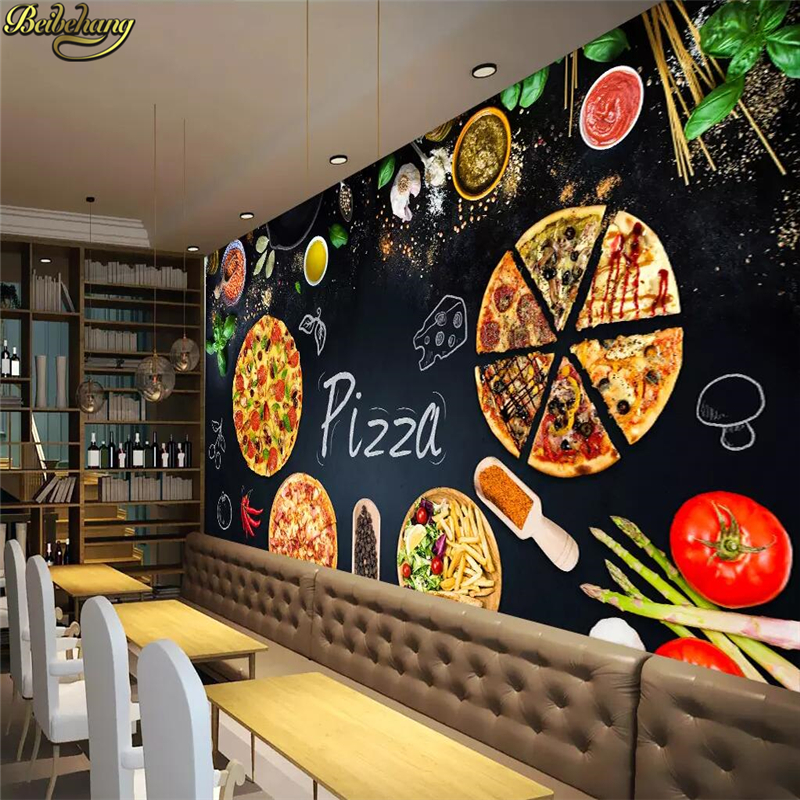 Hand Dawn Pizza Personalized Party Decoration