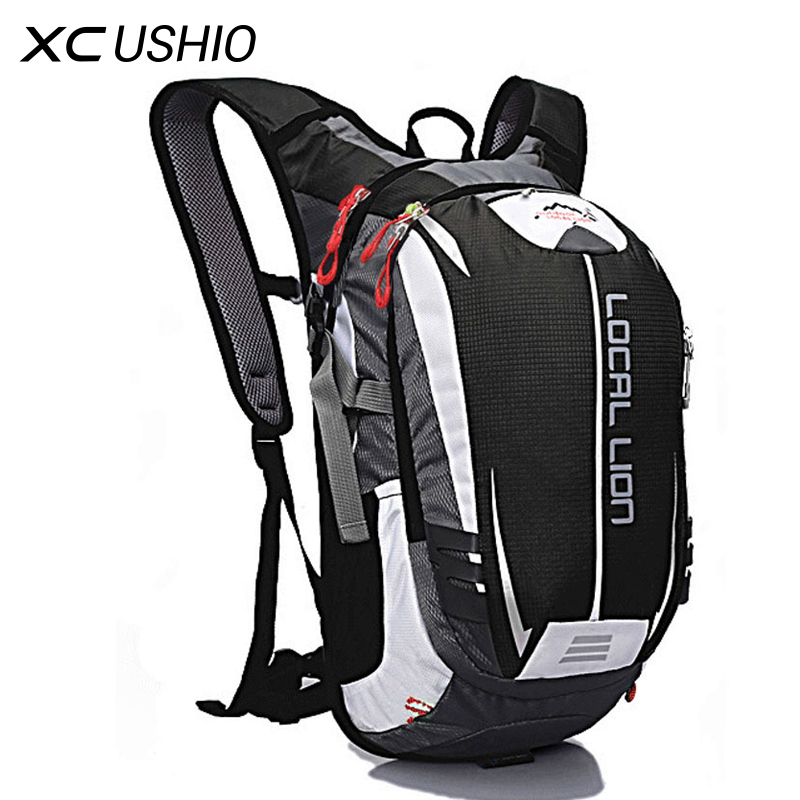 LOCAL LION Outdoor Sport Backpack 18L Breathable Waterproof Bicycle Bag Hiking Climbing Hydration Carrier for <font><b>Cycling</b></font> Running