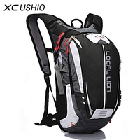 LOCAL LION Outdoor Sport Backpack 18L Breathable Waterproof Bicycle Bag Hiking Climbing Hydration Carrier for Cycling Running