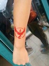 6*6cm  Waterproof Temporary Tattoo Sticker