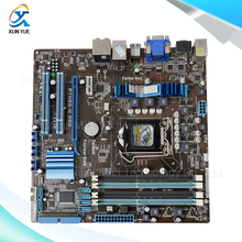For Asus P7H55-M PRO Original Used Desktop Motherboard For Intel H55 Socket LGA 1156 For i3 i5 i7 DDR3 16G HDMI DVI VGA On Sale