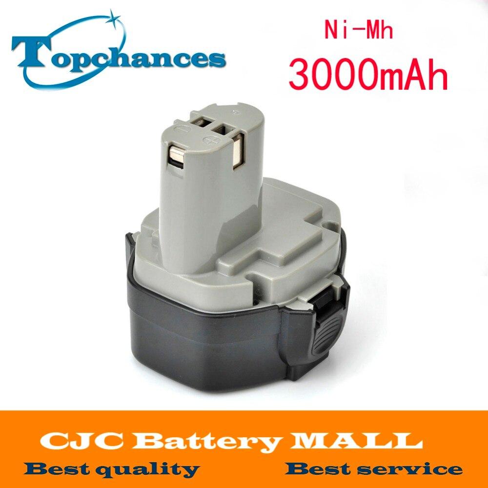 High Quality 14 4V 3000mAh Ni Mh Battery MAKITA 1433 1051D 4033D 4332D 4333D 6228D 14
