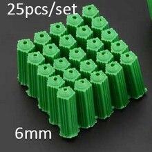 400 шт/партия 6 мм пластиковые болты для дюбеля, pull Aseismic, анкерные болты, пластиковая вилка M6, Настенная трубка запальной свечи