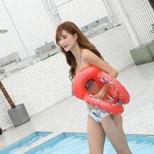 Плавательный шейный кольцевой тренажер для мальчика, надувной плавательный бассейн для бассейна, аксессуар, трубка для ванной, поплавок для девочки, надувной ребенок, взрослый