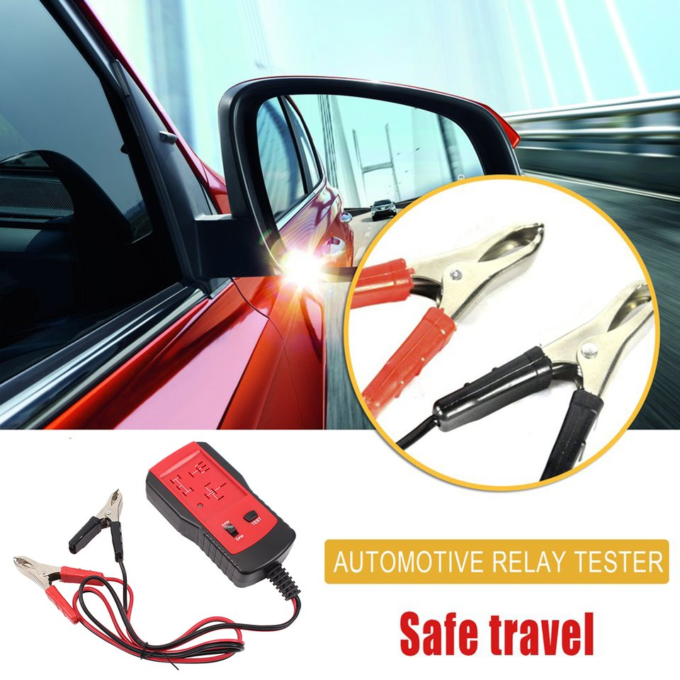 Universal New 12V Cars Relay Tester Relay Testing Tool Auto Battery Checker Accurate Diagnostic Tool Portable Automotive Parts Islamabad