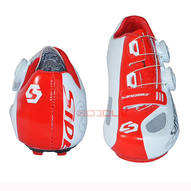 1 Pair Road Cycling Shoes Outdoor Sport Breathable Bike Bicycle Sneaker Self-Locking Non-Slip Road Bike Shoes For Men Women