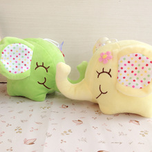 hot deal buy 20cm stuffed plush toy animals elephant baby room decorates birthday gift for children toy plush doll