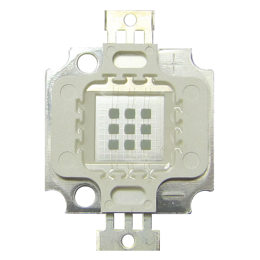 1pcs (9x1W) Low Current 10W 9W 27V~30V 350mA Square Base UV Ultraviolet 365nm SMD LED Light Parts Lamp For UV Glue интегральная микросхема 20 smd b rb520s 30 200mw 30v smd