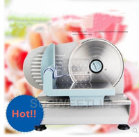 110/220V household semi automatic meat cutting machine small commercial beef rolls and slicing machine slice toast bread cut