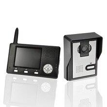 YobangSecurity 2.4G 3.5″LCD Wireless Video Door Phone Doorbell Video Door Entry System Peephole Viewer Camera 1 camera 1 Monitor