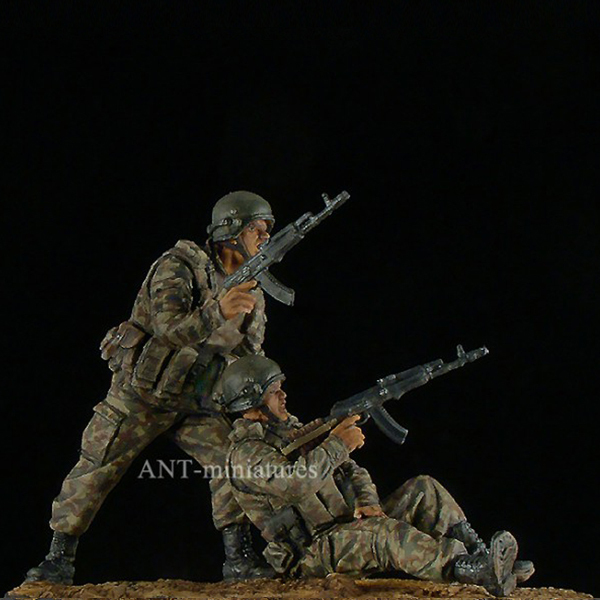 1/35 The Officers Of Spetsnaz Of FSB. Russia Resin Kit
