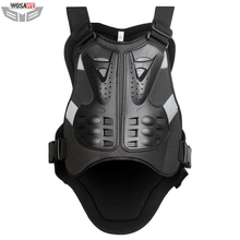 WOSAWE Body Protector Armor Motorcycle jackets Motocross back shield sleeveless Spine Chest Protective gears MOTO Protection
