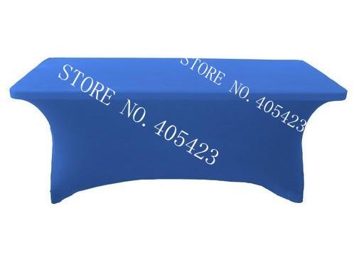 5pcs / lot, 6ft Premium kakovost spandex Lycra namizni pokrov Trestle - Domači tekstil - Fotografija 4