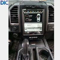 DLC Vertical screen 12'navigation GPS player android system multifunction system steering control For ford F150 2015 2017