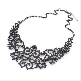 Women's Antique Style Necklace Jewelry Necklaces Women Jewelry Metal Color: COLORA