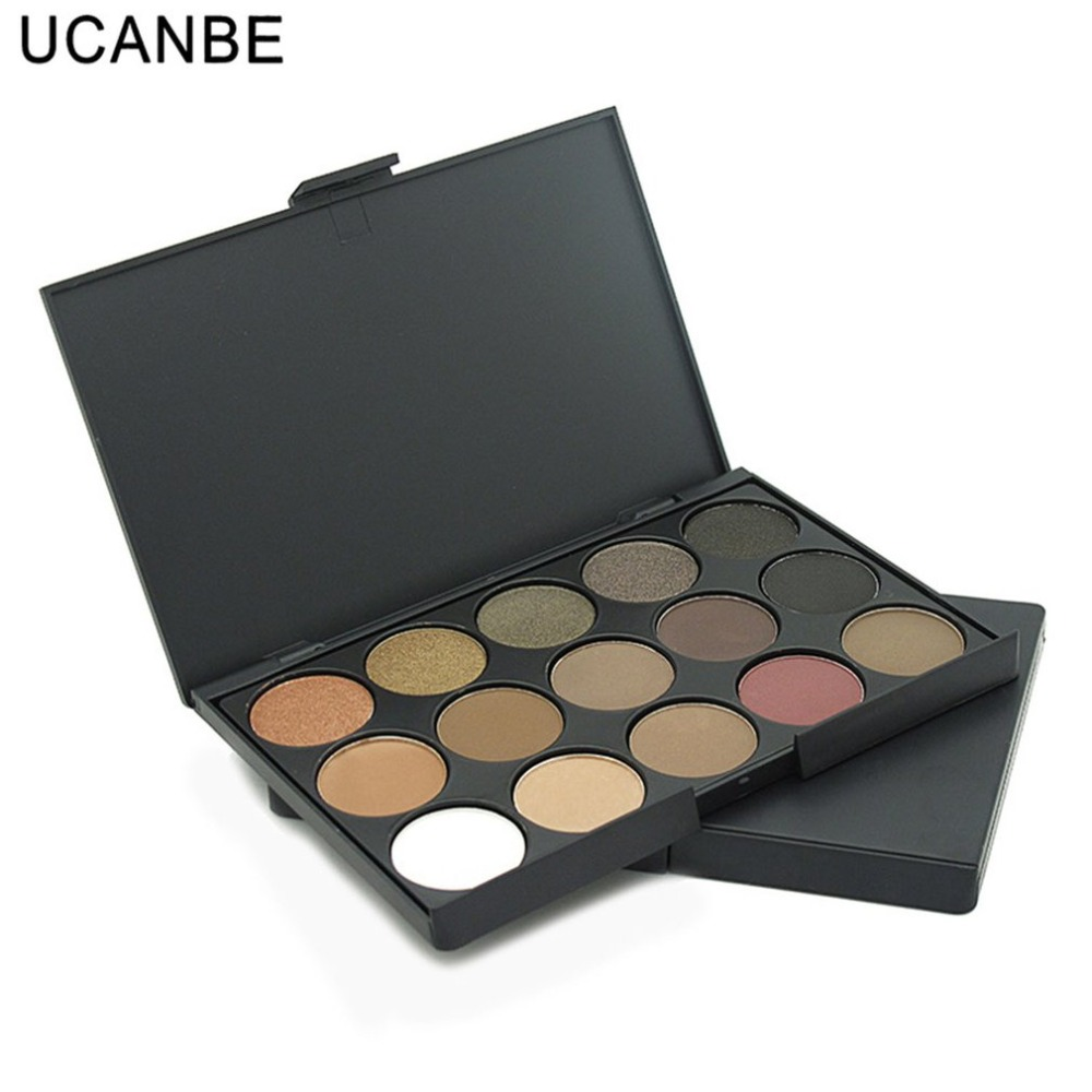 Professinal  Mixed Color Eye Shadow Glitter Luminous Shimmer Eyeshadow Palette Professionaln Natural Makeup Womens Beauty