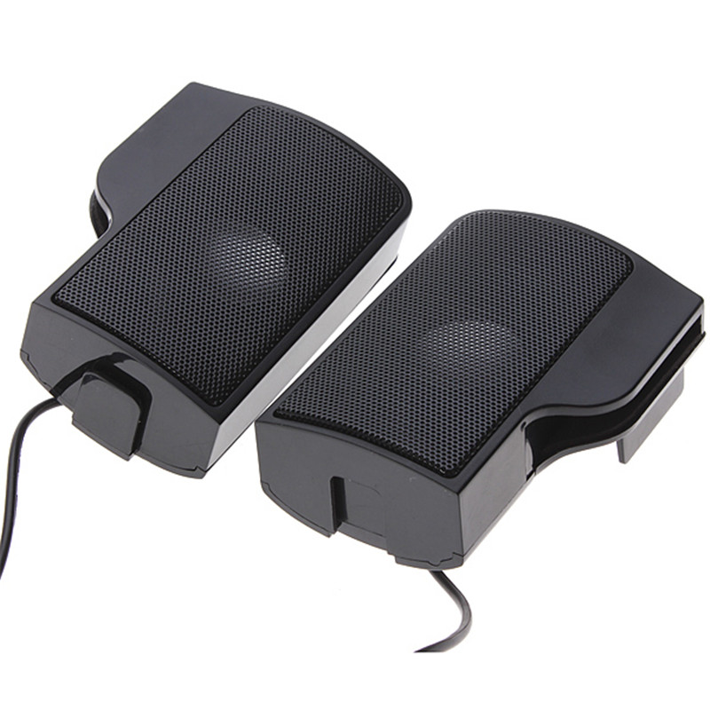 Image 4 - PLEXTONE	1 Pair Mini Portable Clipon USB Stereo Speakers line Controller Soundbar for Laptop Mp3 Phone Music Player PC with Clip-in Computer Speakers from Consumer Electronics