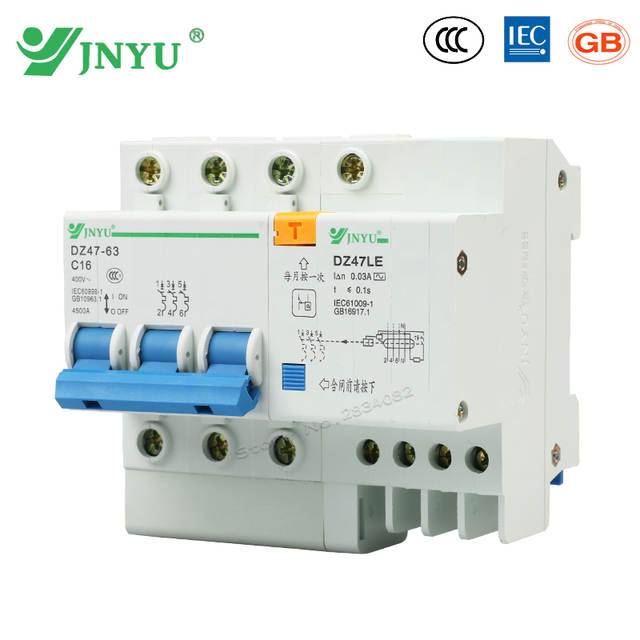 online shop 3p n 3 poles 16a 400v~ small earth leakege circuitonline shop 3p n 3 poles 16a 400v~ small earth leakege circuit breaker household leakege residual over current protection rcbo dz47le c16 3p aliexpress