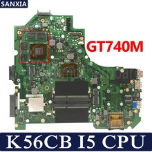 KEFU K56CB Laptop motherboard for ASUS K56CB K56CM K56C K56 S550CM S550C Test original mainboard I5