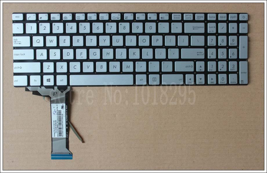 NEW ASUS ROG UK Keyboard GL551 GL551J GL551JK GL551JM GL551JW GL551JX backlit