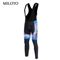 ABD/İNGILTERE Için Pantolon MILOTO Bisiklet Pantolon Erkekler Uzun Pantolon Pantolon Nefes Bisiklet Bisiklet Bisiklet Uzun (Bib) yastıklı mtb Pantolon