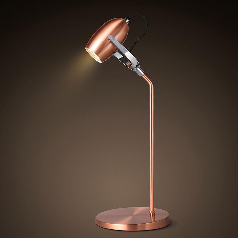 Modern Metal plating table lamps LED eyecare Reading lamp