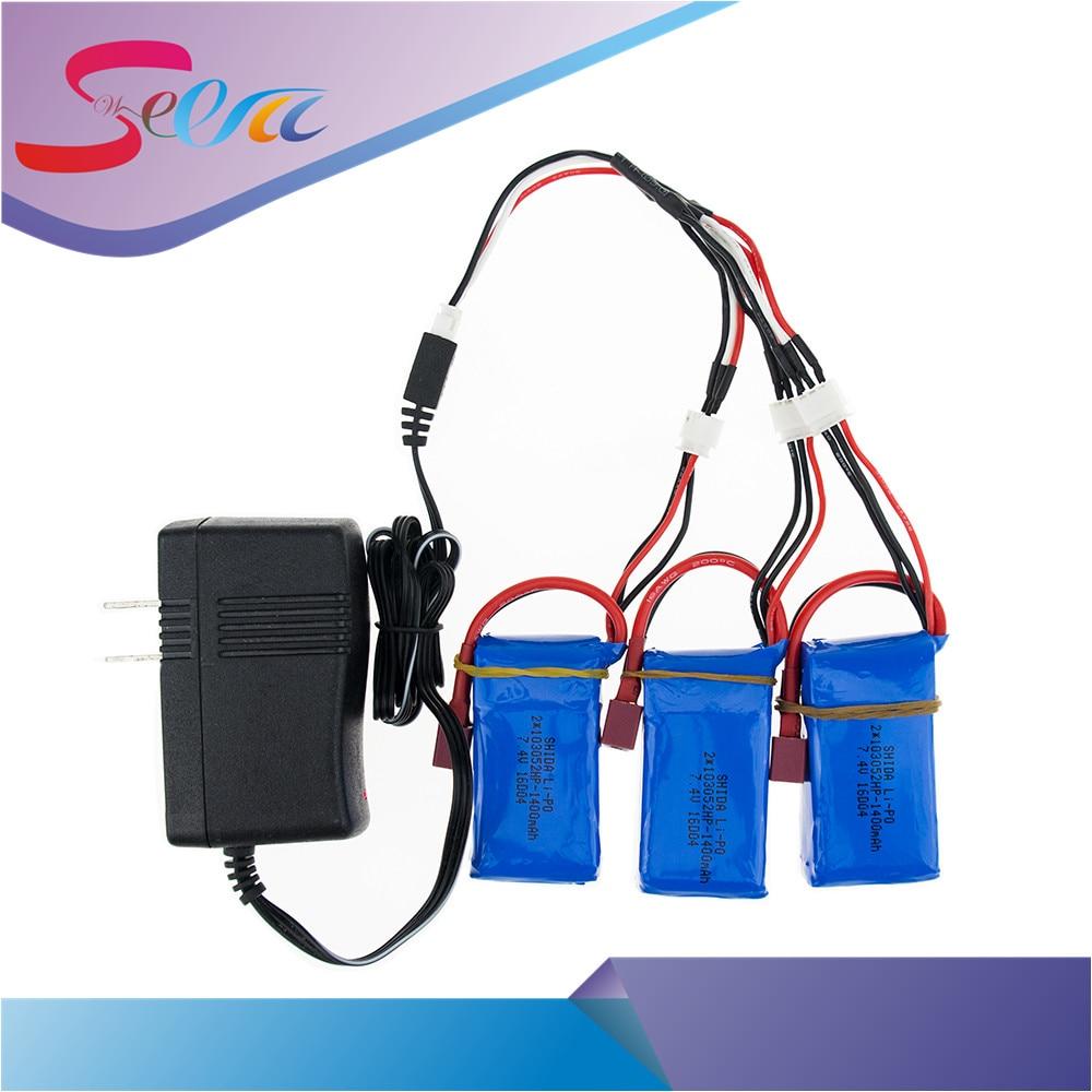 7.4V 1400mAh lipo Battery 3pcs batteries and charger for wltoys A959-b A969-b A979-b K929-B RC car part wholesale 4 in 1 charger 3 7v 520ma 30c lipo battery for wltoys v977 v930