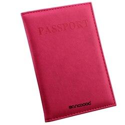 여행 여권 ID 카드 커버 홀더 케이스 가짜 가죽 보호 피부 주최자 922D