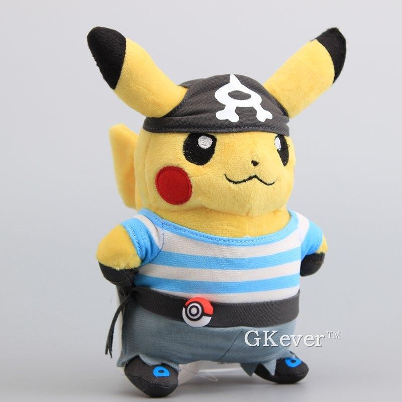 Lindo Anime Juguetes Suave Peluche Aqua Ptozuxik Pikachu Equipo rdWQCxoeB