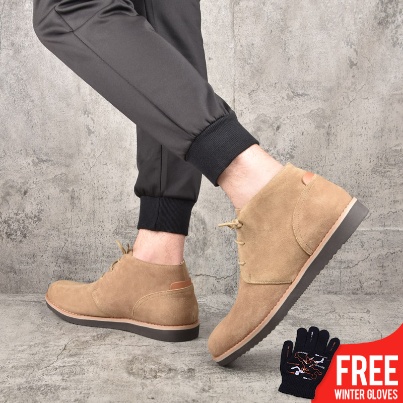 OSCO PUBG Factory Direct High Quality New Fashion Casual Breathable  Light Weige Boots Men Vulcanized Shoes #MB11001W-MQ-5