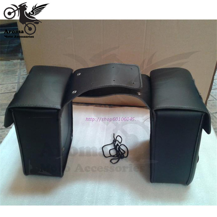 Marca herramienta vintage PU de cuero bolsa de motocicleta bolsas de - Accesorios y repuestos para motocicletas - foto 2