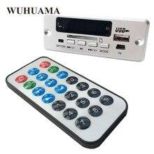 DC5V Dijital Bluetooth MP3 Decode Kurulu 2*3 W Amplifikatör Şarj Edilebilir SD FM Radyo Mini USB Aux araba DIY Ses Modülü