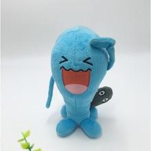 Hot Anime Wobbuffet Plush Toys Cartoon Character 20cm Kawaii Soft Stuffed Animals Doll for Kids Toys Children Birthday Gift