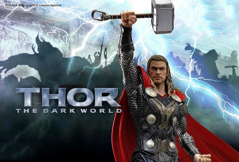 High Quality 1/9 Dragon #38120 Statue Thor Collectable Figure Hero Model Figure Toy Action Figure For Collections 1