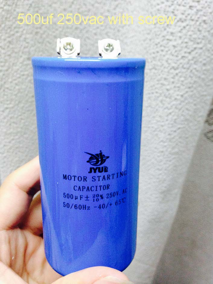cd60 500uf 500mfd 250v ac lowes motor start electrolytic capacitor staring capacitor cd60 100uf 250v ac 50 60hz 40 70 temperature 21