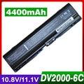 4400mAh laptop battery for HP 455804-001 460143-001 for COMPAQ Presario V6300 A900 C700 F500 F700 V3000 V3100 V3600 V6000 V6500