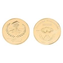 Памятная монета, коллекция Святого майклса, подарки, сувенир, ремесло, искусство, Биткоин, BTC, монета без валюты