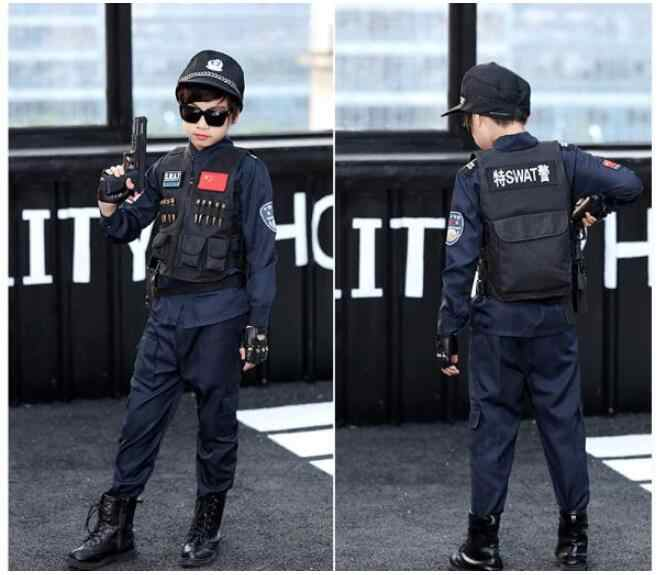 パーティー衣装少年警察官真新しい警官子供子供ハロウィーンホット販売 ...