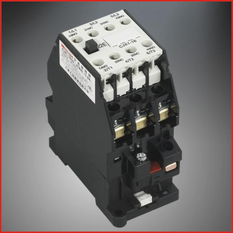 Contactor AC contactor 220V 380V low voltage apparatus switch mini hdmi 3TB 3TF series contactor CJX1-22/22(3TB43)