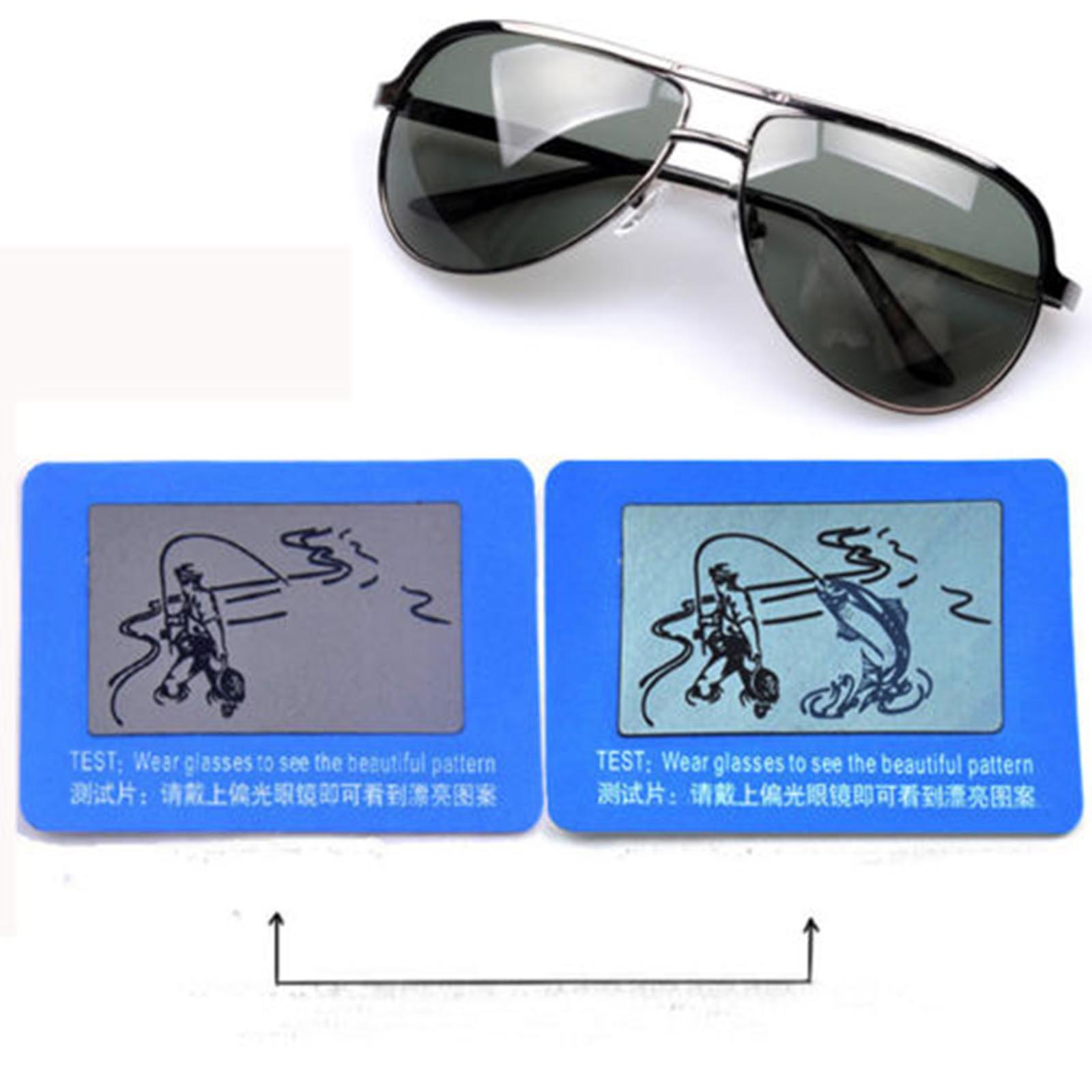 467ec459097f 10pcs pack Magical Practical Men s Women s Polarised Polarized Sunglasses  Test Card Shade-in Accessories from Apparel Accessories on Aliexpress.com  ...
