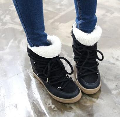 mode hiver chaud neige femmes bottes marque conception de. Black Bedroom Furniture Sets. Home Design Ideas