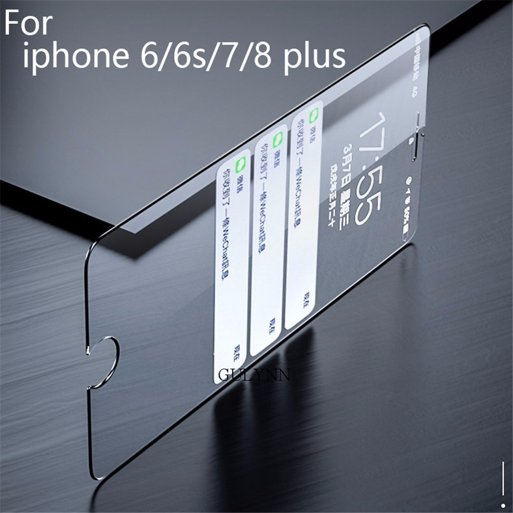 Explosion Proof Tempered Glass For iPhone 6 7 8 Plus 6s 4 S 5S SE X XS Max XR Screen Protector Toughened Film Pelicula de vidro in Phone Screen Protectors from Cellphones Telecommunications
