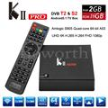 Genuino KII Pro Android DVB-S2 DVB-T2 TV Box 2 GB 16 GB S905 Amlogic Quad Core 2.4G 5G Wifi Bluetooth Smart Media jugador
