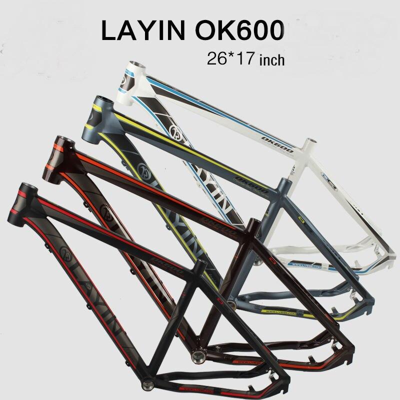 все цены на last layin 2017 26inch mtb aluminum bike frame mountain bicycle frameset bicicletas mountain bike 26