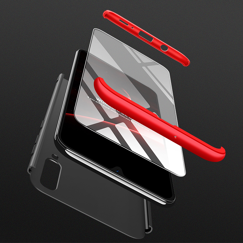 For Samsung Galaxy A20 Case 360 Degree Full Body Cover Case For Samsung A20 A205F A205 A 20 SM-A205F Case With Tempered Glass