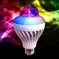 8 W Teto Do DIODO EMISSOR de cor girando lâmpada casino colorido KTV luz de poupança de energia lâmpadas de cristal Colorido bola uma lâmpada dupla