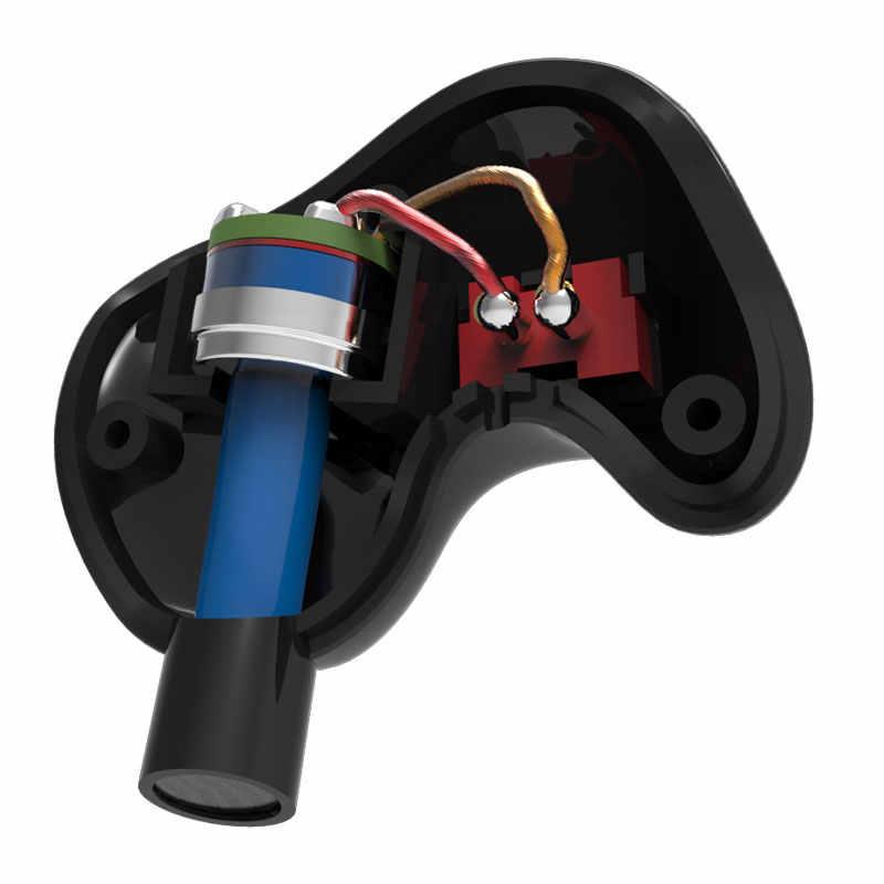 KZ ZS3 słuchawki 1DD dynamiczne w ucho monitory redukcja szumów HiFi muzyka sport słuchawki douszne z mikrofonem do telefonów zestaw słuchawkowy do gier