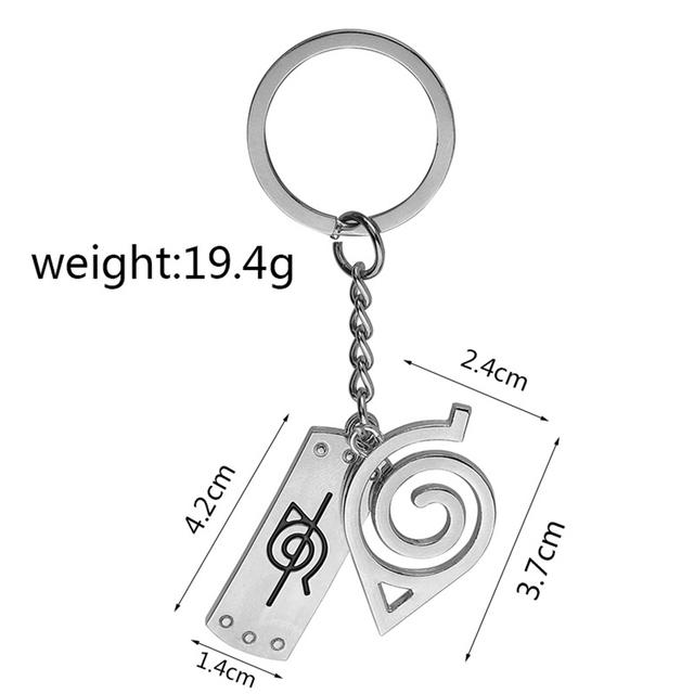 Konoha Logo Keychain