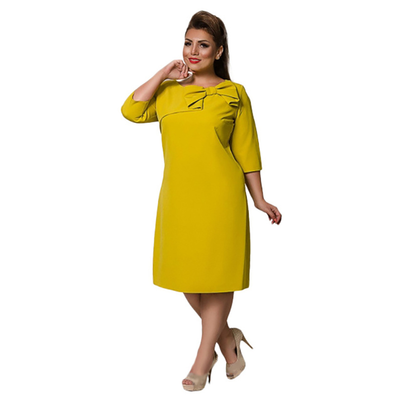 COCOEPPS Summer Women Dress 6XL Large Size Vestidos Dress Office Lady Elegant Plus Big Size Female Clothes Bodycon Casual Dress